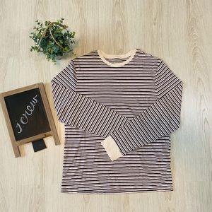 Jcrew Striped Long Sleeve Shirt